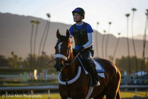 Hello Race Fans, Dean Reeves, Santa Anita Race Track
