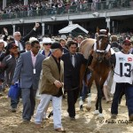May 7, 2011 Churchill Downs.   Kentucky Derby walkover