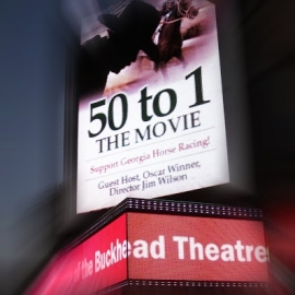 Buckhead Theater 50 to 1 facade effect